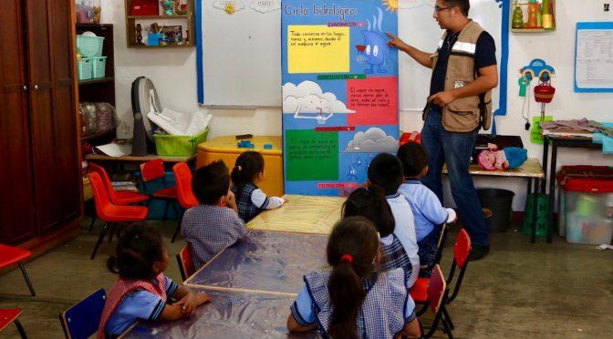 Promueve SAPAO el cuidado del agua y medio ambiente (NSS Oaxaca)