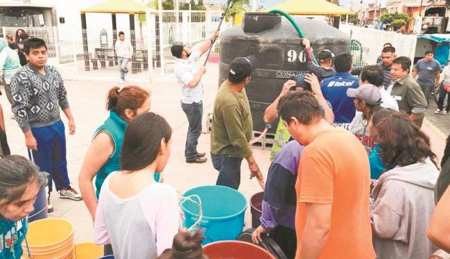 A consulta, programa de captación de agua (El Universal)