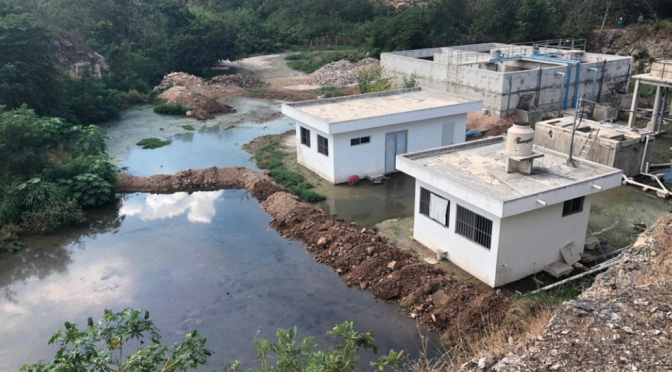 Vecinos en Mulchechén denuncian contaminación en agua (La Jornada)