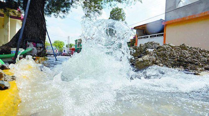 Reportan que en Saltillo se sigue desperdiciando el 40% del agua que se administra (Vanguardia)
