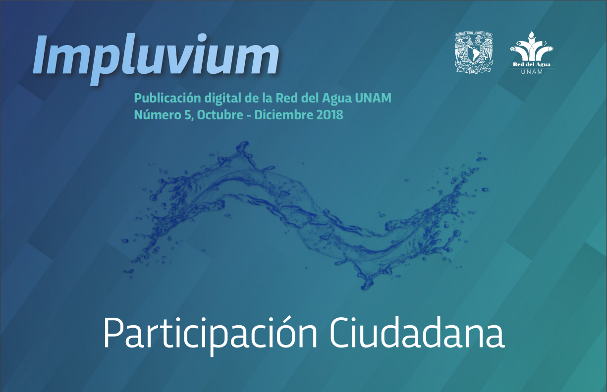Periódico digital Impluvium No. 5 – Participación Ciudadana