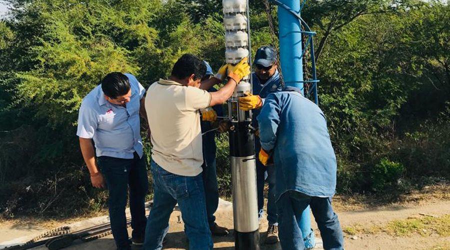 Instalan equipo para abasto de agua en Salina Cruz (El Imparcial)
