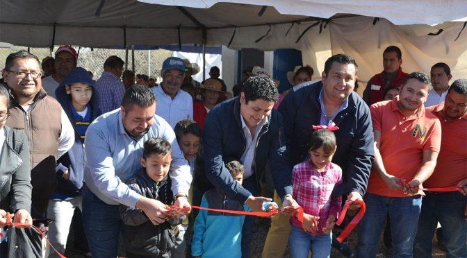 Guanajuato: Inauguran electrificación de pozo (Periódico Correo)
