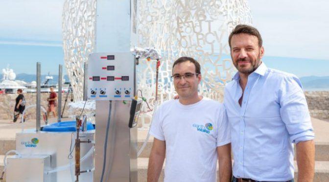 Esta máquina transforma desechos de plástico en combustible (Nation)