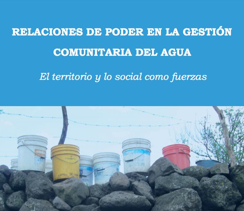 Relaciones de poder en la gestión comunitaria del agua