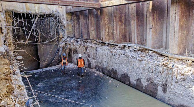 Va inversión histórica a drenaje, agua potable… (La Razón)