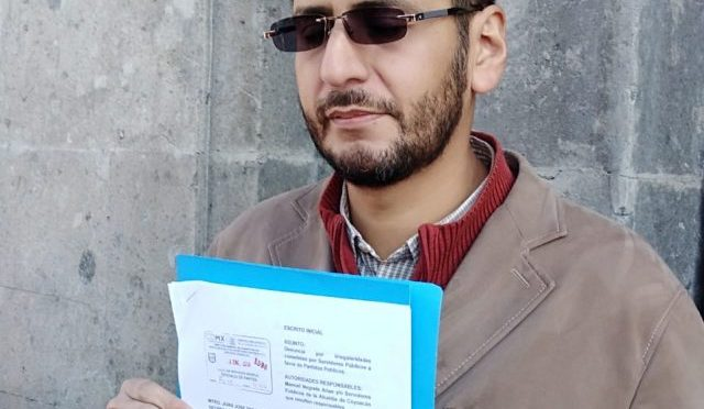 Demandan a Negrete por repartir tinacos (Diario Basta)