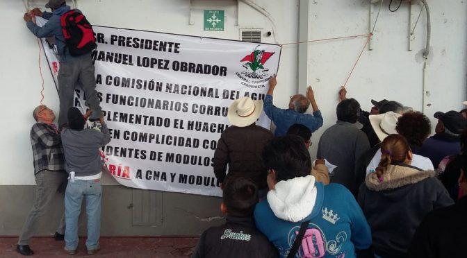 Coahuila: Campesinos piden acabar con el 'huachicoleo' de agua (Milenio)