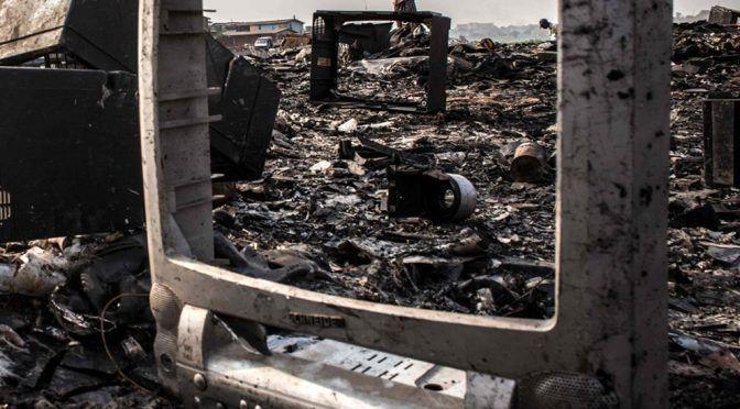 San Luis Potosí: Ecología mantiene campaña de recolección de basura electrónica (Plano Informativo)