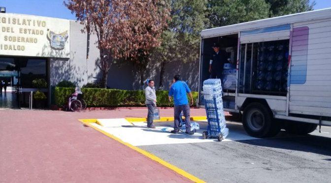 Hidalgo: Buscaría PRI suprimir consumo de botellas plásticas de agua en el Congreso local (AM)