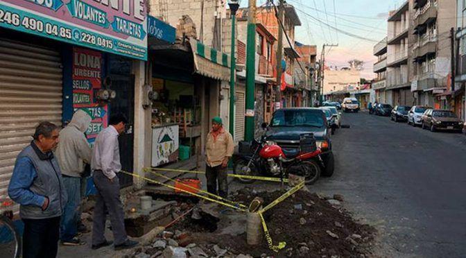 Provoca tubería obsoleta fugas en Chiautempan (El Sol de Tlaxcala)