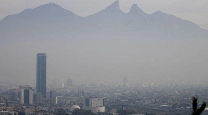 Emiten nueva alerta por contaminación en Monterrey (Vanguardia)