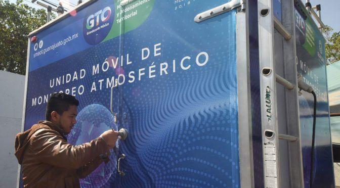 Guanajuato: Instalan cuarta estación de monitoreo para la calidad del aire (Periódico Correo)