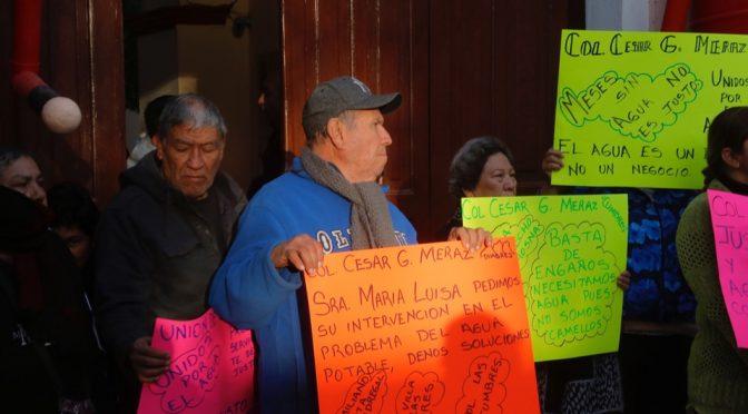 Toman presidencia de Lerdo para exigir servicios públicos (Milenio)