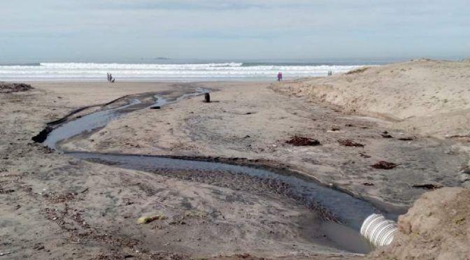 Restringen uso recreativo de playa Conalep en Ensenada (20 Minutos)