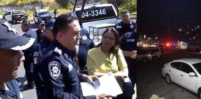 Se manifiestan por construcción irregular en Río Hondo, Naucalpan (La Prensa)