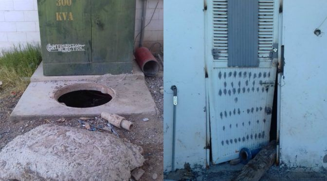 Roban cable y dañan bomba de agua en Torreón (Milenio)