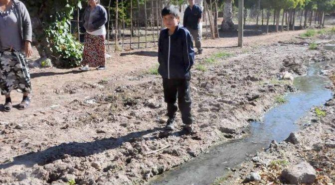 Las aguas negras han enfermado a los habitantes de Corerepe (Debate)