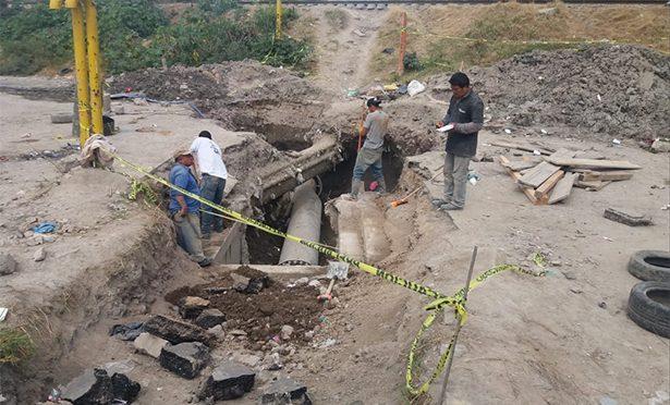 Reparan megafuga de agua en Ecatepec (La Prensa)