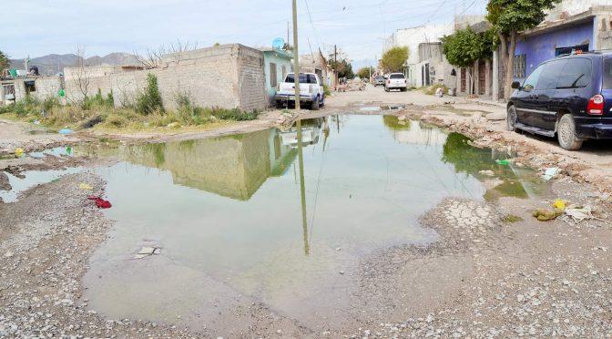 Viven entre agua sucia en la colonia Nueva Merced (El Siglo de Torreon)