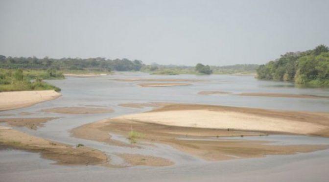 Baja nivel de río Carrizal y afecta abasto de agua a Villahermosa (20 Minutos)