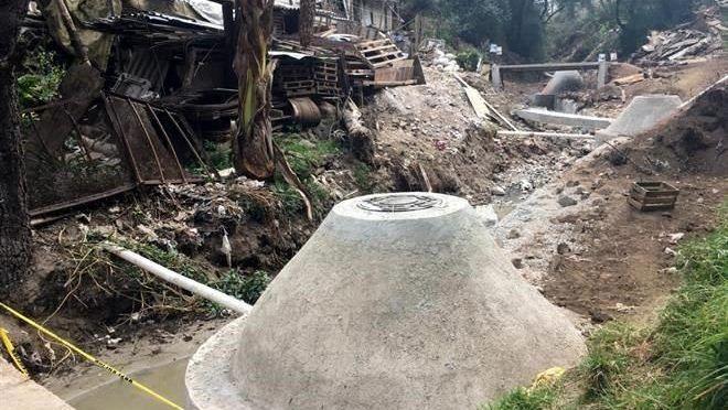 Piden concluir drenaje en Cuajimalpa (Reforma)