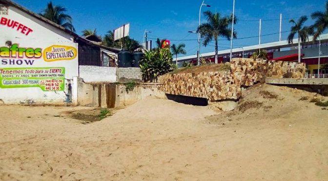 Acapulco: Solucionan a medias las descargas de aguas residuales al mar (El Sol de Acapulco)
