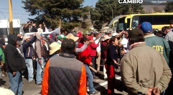 Heredan poder en Cuyoaco: raíz de bloqueos y protestas (Cambio)