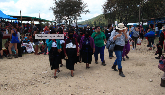 Mujeres zapatistas suspenden encuentro: rechazan megaproyectos de AMLO (El Universal)