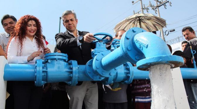 Reportan presunto saqueo de pozo de agua en Ecatepec (La Jornada)