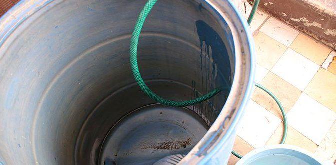 Falta de agua en el centro; amagan con bloqueos (Pulso)