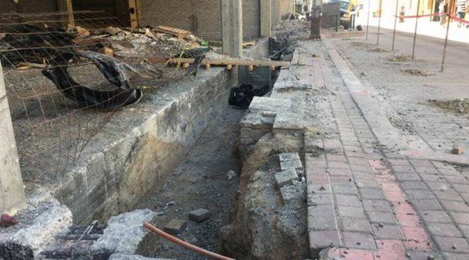 Lidia Jumapam con acumulación de escombros en la red de drenaje (El Sol de Mazatlan)