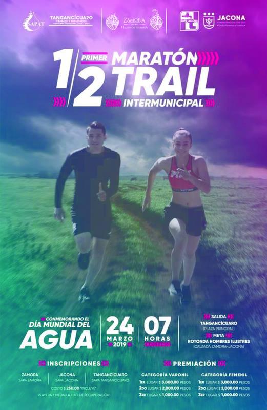 Medio Maratón Trail Intermunicipal 2019 Por El Cuidado Del Agua