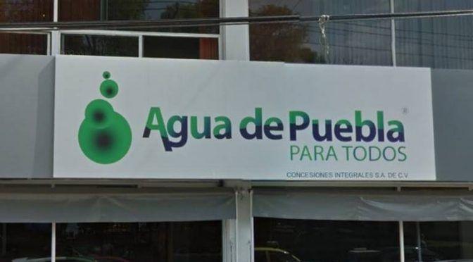 Se rezaga Agua de Puebla en inversiones (El Sol de Puebla)