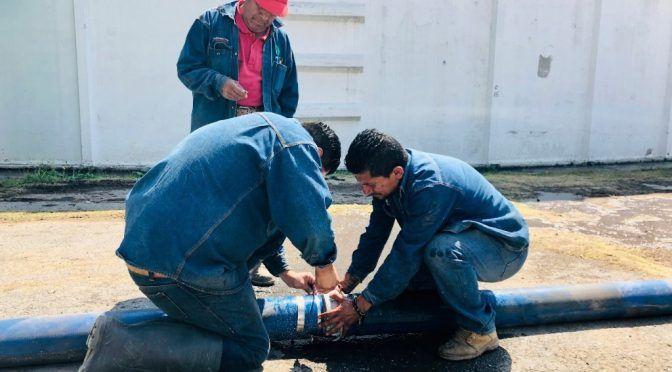 Por falla reducen suministro de agua en Ecatepec (La Jornada)