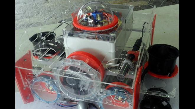 Educación Alumno de la BUAP crea robot para medir contaminación en el agua (Union Puebla)