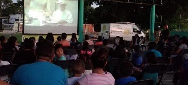 Cine Móvil Toto ofrecerá funciones gratuitas en Chiapas (20 Minutos)