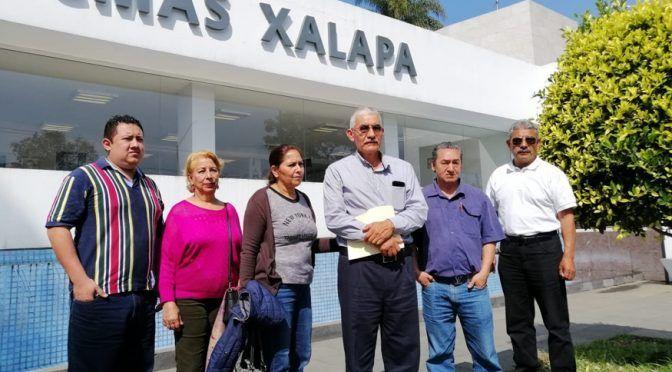 Protestan colonos contra CMAS en Xalapa por fuga de agua (El Dictamen)