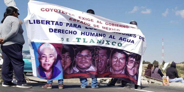 Liberan a tres defensores del agua de Tlanixco tras 11 años de prisión (Huffpost)