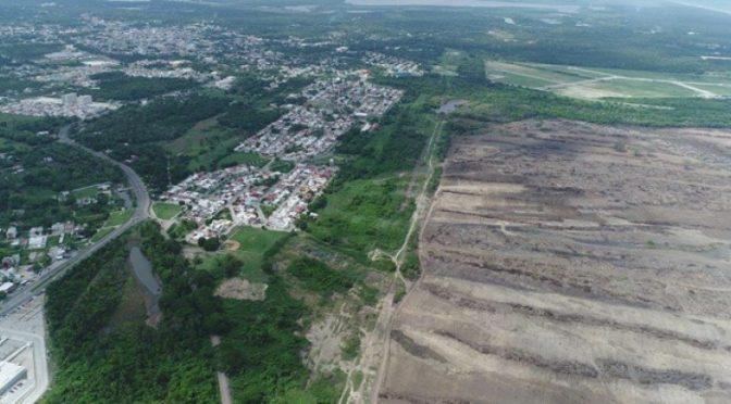 Senadora denuncia que continúan obras en predio de Dos Bocas sin permisos (Obras)