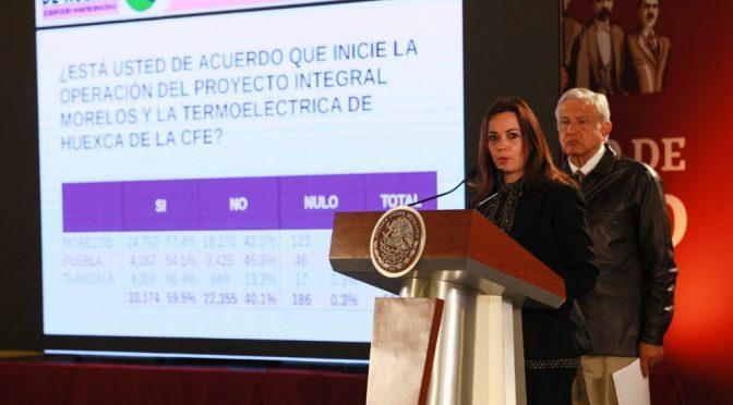 "Gana el ""Sí"" en la consulta sobre PIM, dice López Obrador (La Jornada)"