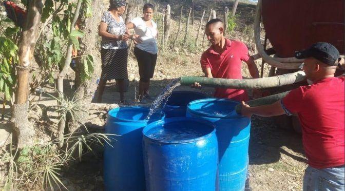 Gustavo Montalvo va a La Sierra por efectos sequía (Noticias Sin)