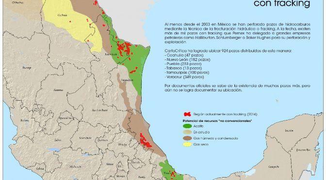 Plan de exploración petrolera en Veracruz prevería usar 'fracking' (La Jornada)