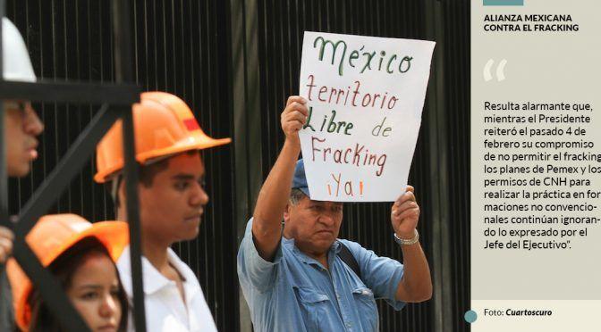 CDMX: Morena prepara iniciativa para hundir fracking (El Universal)