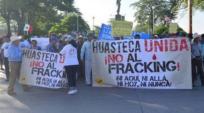 Pese a prohibición de AMLO, fracking amenaza a la Huasteca ( El Sol de San Luis)
