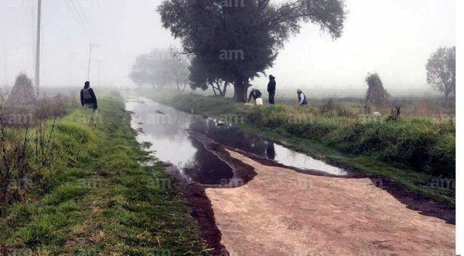 No sólo violencia, 'huachicoleo' contamina los campos en Guanajuato (AM)
