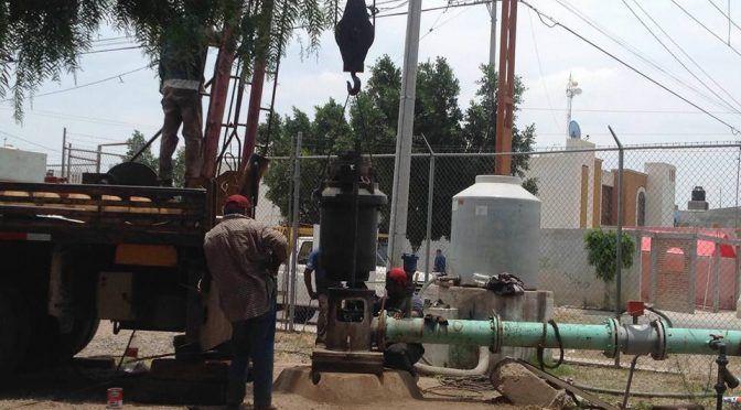 San Luis Potosí: Interapas continúa el proceso de rehabilitación de pozos en zona Metropolitana (Exprés)