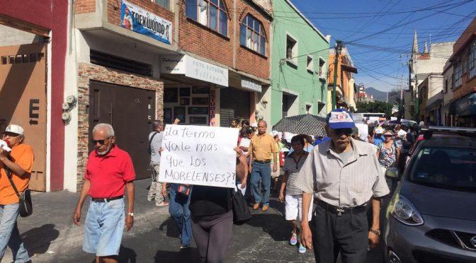"""""""Agua sí, Termo no"""", gritan en Morelos contra termoeléctrica (Milenio)"""