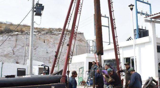 Durango: Dan mantenimiento a pozos de agua (El Siglo de Durango)