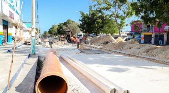 CAPA rehabilita colectores de aguas residuales en Chetumal (La Verdad)